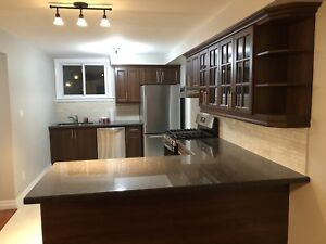 3 years old custom kitchen with new doors  for sale!