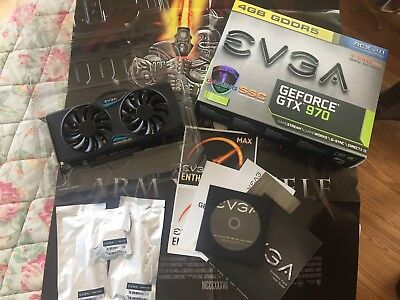 Usado, EVGA GeForce GTX 970 04G-P4-3979-KB 4GB SSC GAMING w/ ACX 2.0 Graphics Card comprar usado  Enviando para Brazil