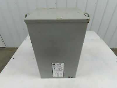 Egs Hevi-duty Hs5f10as Transformer 10 Kva 1-phase 240x480v 120240v 3r Enclosure