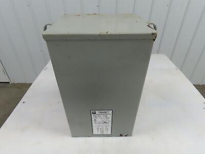 Egs Hevi-duty Hs5f10as Transformer 10 Kva 1-phase 240x480v 120240v 3r Enclosure