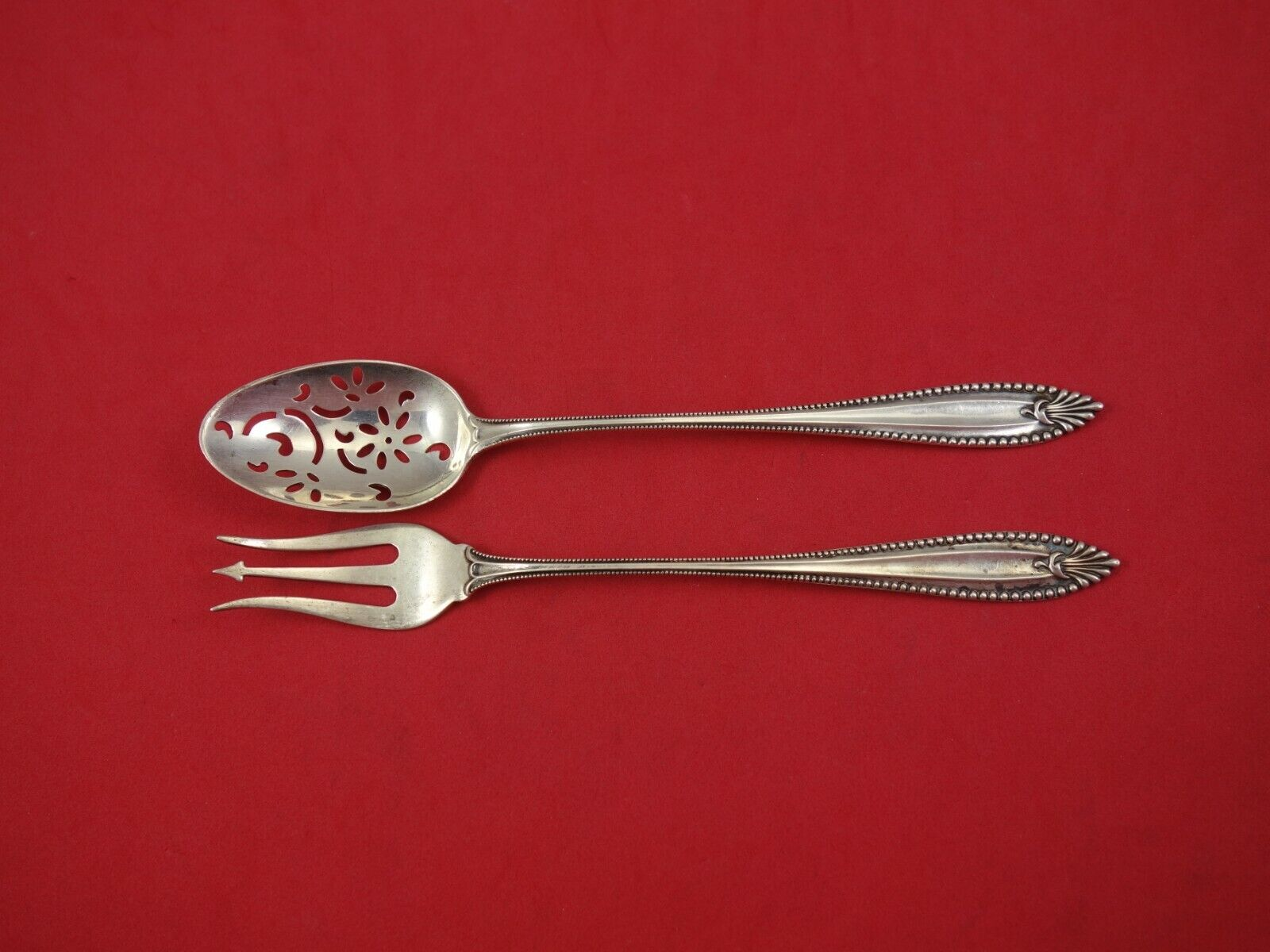 Versailles by Gorham Sterling Silver Cheese Server Serving Set 2pc HHWS  Custom