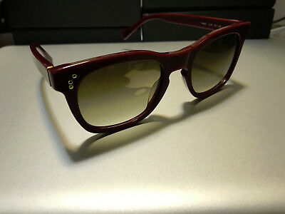 SHAUNS OF CALIFORNIA SUNGLASSES *TWEED* MODEL IN BURGUNDY BRAND (Shades Of Brown Models)