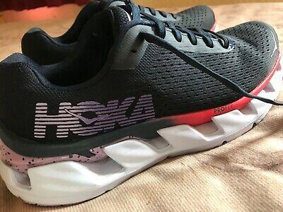 Hoka One One Women's Elevon Running Shoes Black Iris/Lavendula Size UK 7 RRP £13
