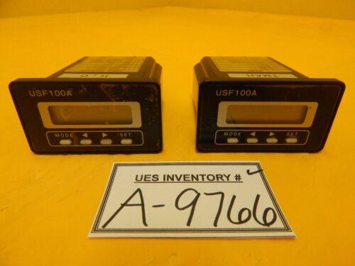 Tokyo Flow Meter USF100A-K10EP Ultrasonic Flow Meter USF100A Honda Lot of 2 Used
