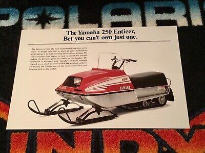 Vintage 250 Snowmobile