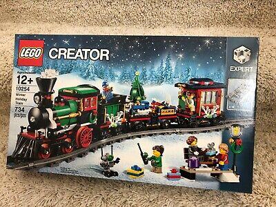 Lego Creator Winter Holiday Train Set 10254 New, Factory Sealed!