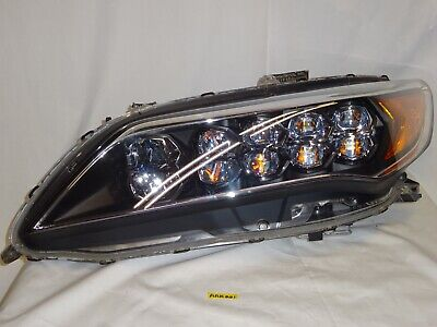2014 2015 2016 Acura RLX Headlight Left / Driver Side LED OEM Jewel Eye