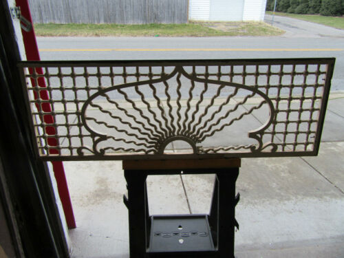 ~ BEAUTIFUL ANTIQUE STICK AND BALL FRETWORK ~ 53 X 18 ~ ARCHITECTURAL SALVAGE