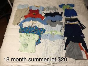 Boy clothing lots 18-24 months
