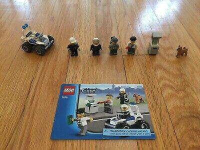 Lego City #7279 Police Mini-Figure Collection, Rare, Retired, 100%Complete