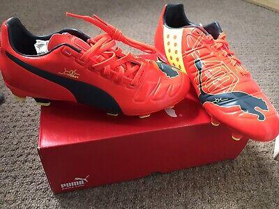 BNIB Puma Evopower 3 FG Junior Football Boots Trainers. UK Size 5