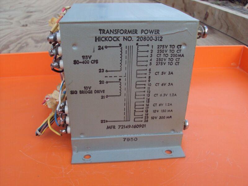 Hickock Transformer Power