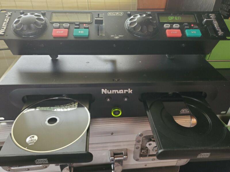 Numark CDN30 CDN-30 CDN 30 Professional Dual DJ Disc Jockey Compact Disc Player
