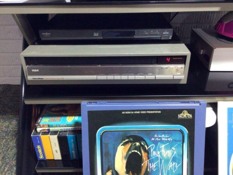 RCA SelectaVision CED SJT 300 videodisc player