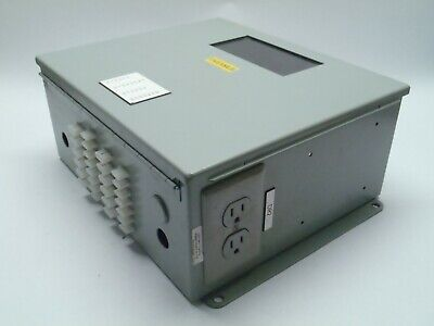 Hoffman A1412chspl Control Panel Box Industrial Enclosure 14 X 12 X 6 Window