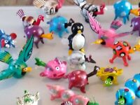 """lMoody Face Anti Stress SqueezyToy  Keyring approx 2/"""" Tall"""