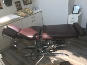 Hydraulic Chiropractor Bed