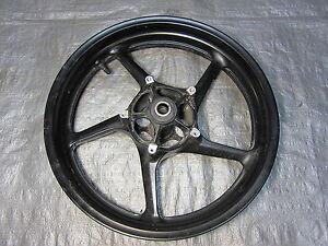 07 08 Yamaha R1 Front Wheel - STRAIGHT