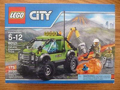 Lego City Volcano Exploration Truck 60121 - New in Sealed Box