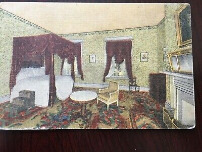 Lafayette's Bedroom The Hermitage, Home of general Andrew Jackson Tenn. POSTCARD