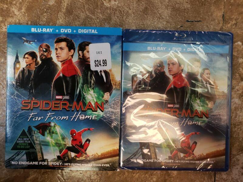 Spider-man: Far From Home 2019 Blu-ray DVD Digital w/Slipcover