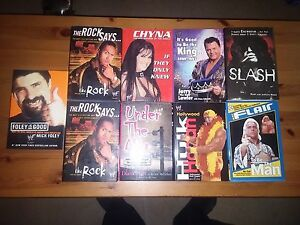 WWE WWF Hard Cover Books Only 10.00 each NEW