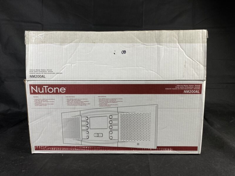 Broan Nutone NM200AL Intercom Master Station - Almond