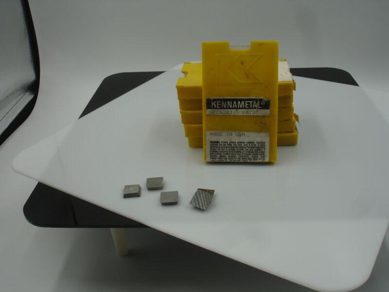 SEC 422 J K8735 KENNAMETAL Carbide Inserts (10pcs)935