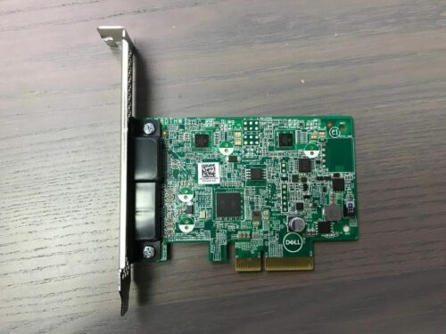 Dell 29MVR PCI-E 4x Express to DisplayPort USB-C Type C Dual Port Expansion Card