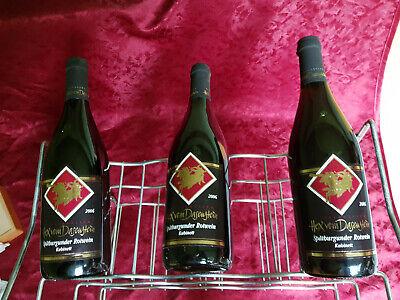 Hex vom Dasenstein Spätburgunder Rotwein Kabinet 2006 , 3 x 0,75L