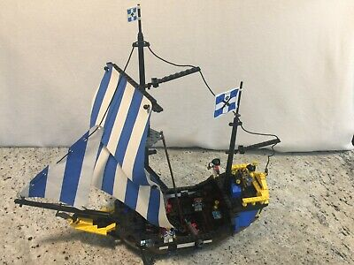 Vintage LEGO Pirates Ship 6274 Caribbean Clipper Imperial Guard