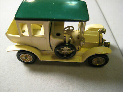 Vintage Matchbox Lesney Models of Yesteryear Cream Benz Limousine - READ!!!