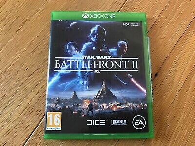 STAR WARS BATTLEFRONT 2 UK SELLER XBOX ONE GAME