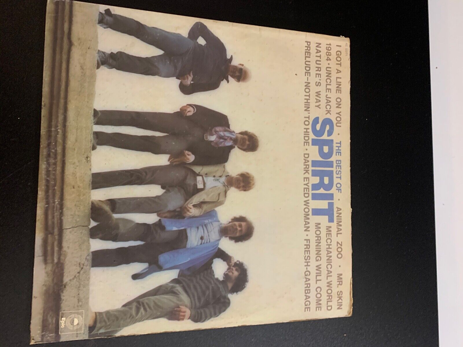 LP RECORD - SPIRIT - THE BEST OF SPIRIT - EPIC RECORDS - $9.99