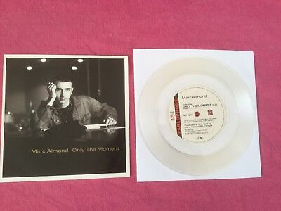 "MARC ALMOND "" ONLY THE MOMENT "" CLEAR VINYL ORIG 1989 EMI + ORIG BACKING CARD"
