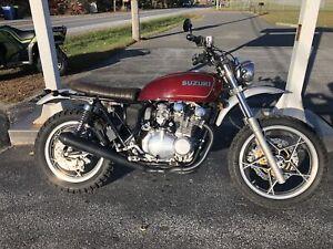 1981 Suzuki GS650 cafe racer ,