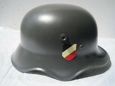 Stahlhelm Parade M16 Helm 1 .Weltkrieg Ähn.Wehrmacht Harley Davidson Repro !!!  gebraucht kaufen  Schöneiche
