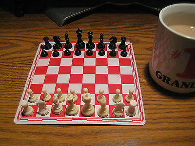 Magnet Chess Set & Checker Set...Two Complete Games Including Two Boards
