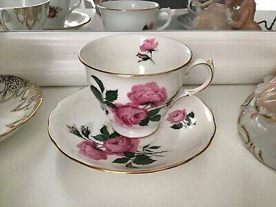 Rose Gold rimmed 1830s Tea Cup