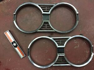 Pair of Headlight Grills 1967 Meteor for Sale!