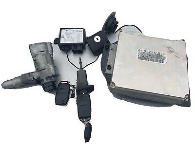 MERCEDES SLK R170 ENGINE ECU IGNITION BARREL DOOR LOCK SET 2X KEYS. A0235458332