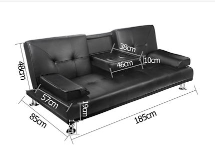 Sale! Brand new Sofa bed PU leather, fabric 3,4,5 seater