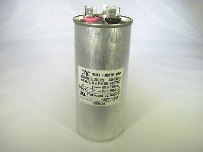 40 uf MFD 370 440 VAC ROUND Capacitor 12745 Replaces C340R C440R 25L501 97F9614