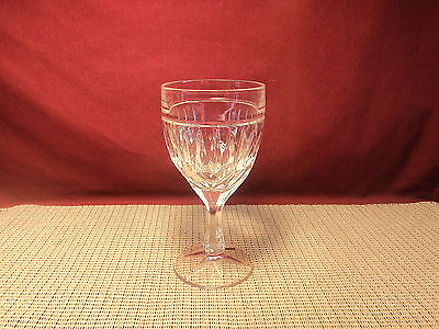 Action Industries Crystal Ai 1 Pattern Vertical Cuts Water Goblet 7