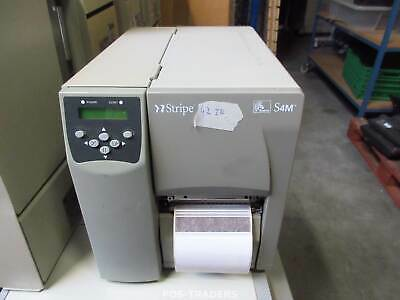 Zebra S4M S4M00-200E-0200D LAN + USB Thermal Barcode Label Printer - 42 INCH