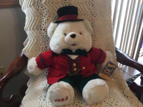 1993 Kmart Charles Dickens  A CHRISTMAS CAROL 150th Anniversary Christmas Bear