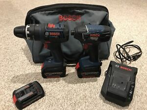 Bosch 18v Lithium Ion Drill Combo Set