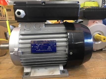 Electrical motors 2.2kw/3hp 2800rpm single phase reversibel