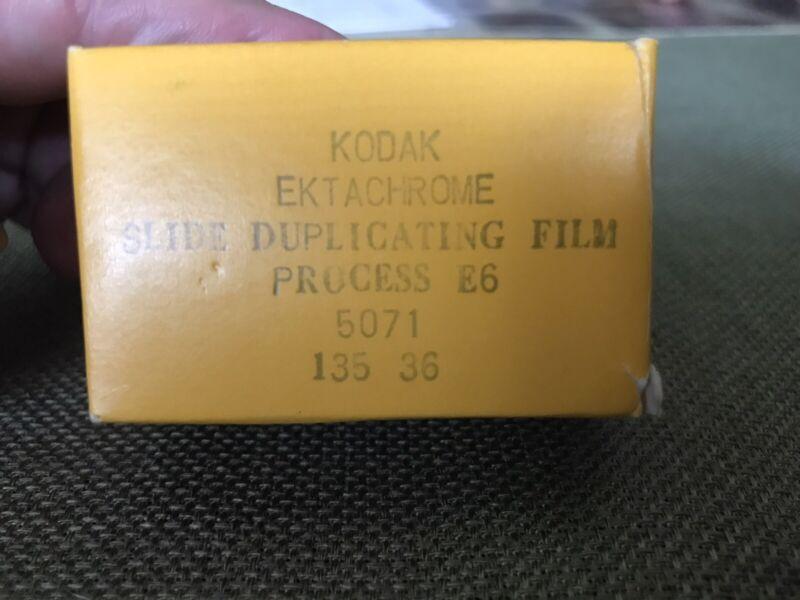 Kodak Ektachrome 5071 ESD Film