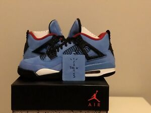 ALMOST SOLD OUT! TRAVIS SCOTT JORDAN 4'S FOR SALE! SIZE 11